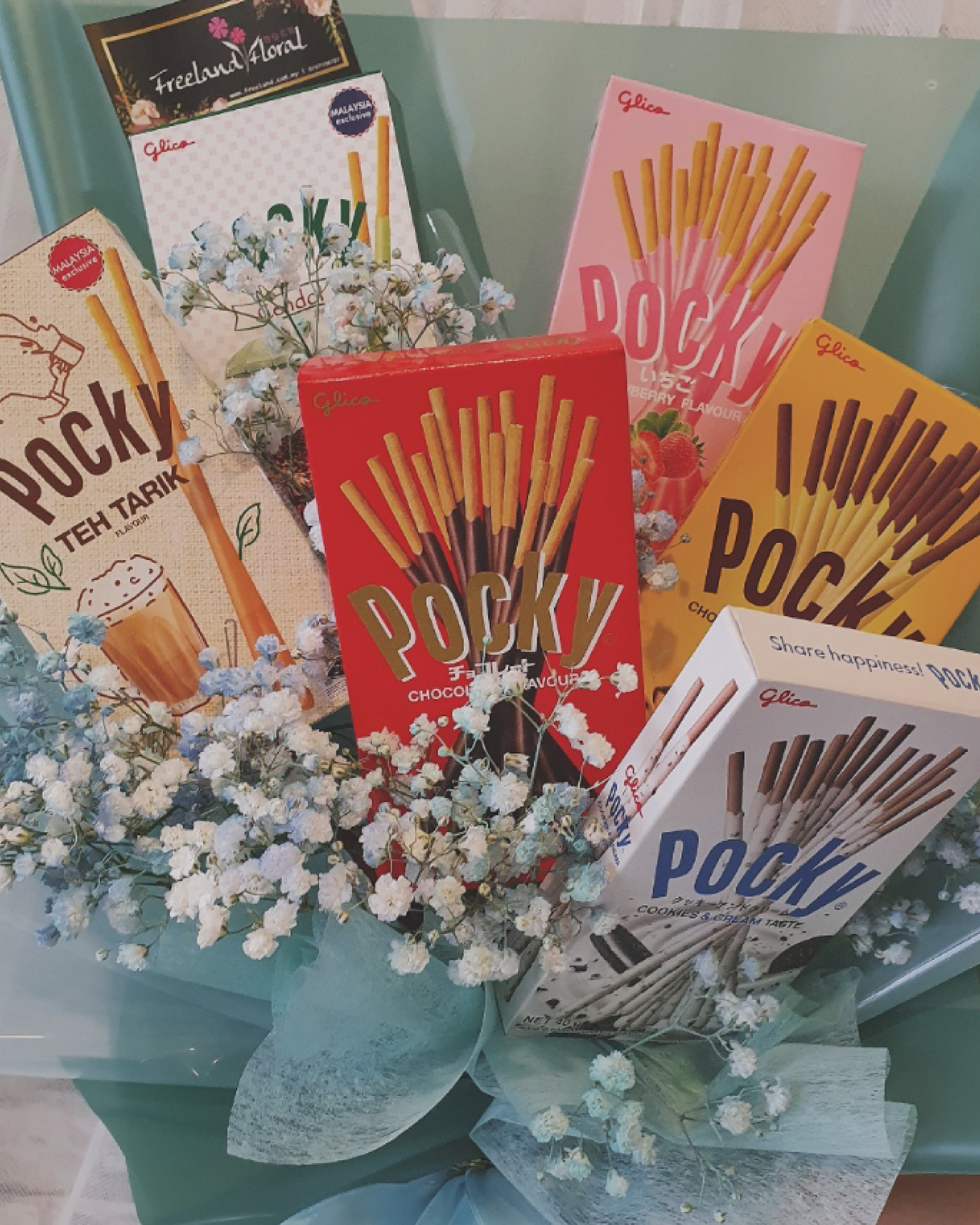 Pocky Bouquet Turquoise